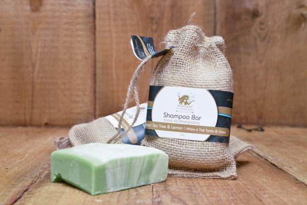 Twisted Tea Tree & Lemon With Eco-friendly Pine Soap Deck